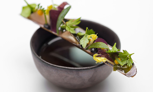 6-Gänge-Michelindiner bei Cucina del Mondo