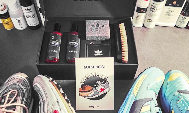 Professionelle Sneaker Reinigung