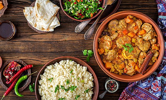 3-gangen shared dining bij 3Stones Keniaans Restaurant