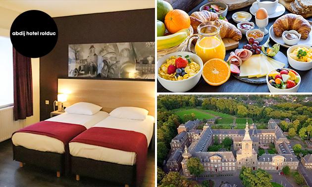Overnachting voor 2 + ontbijt in uniek abdijhotel in Zuid-Limburg