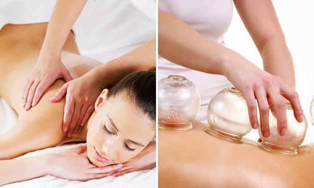 Massage + cupping (75 min)