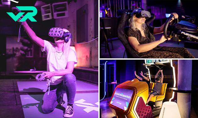 5 Virtual Reality games (60 min)