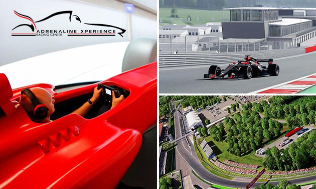 Racesimulator (60 min) of masterclass racen (8 uur)