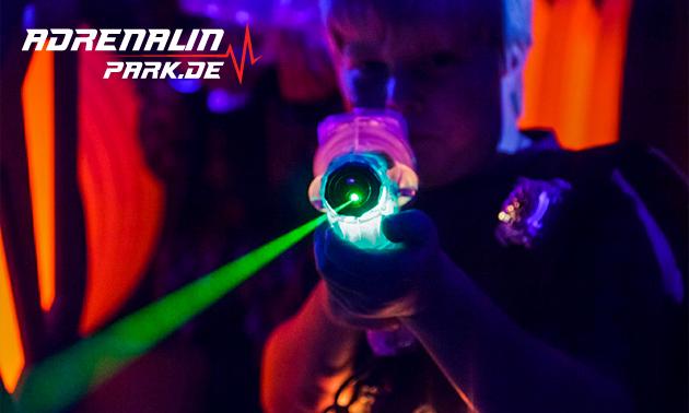 2 Runden Lasertag für 1, 2 oder 4 Personen