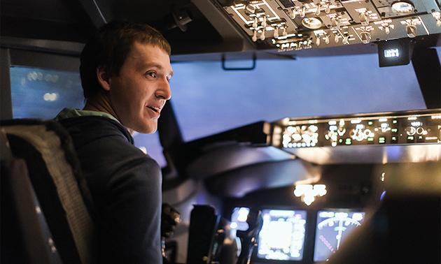 Flugerlebnis im Flugsimulator