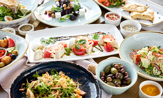 Grieks 2-gangen shared dining-diner bij Alexandros