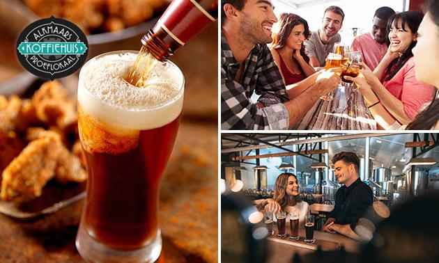 Bierproeverij + hapjes in hartje Alkmaar