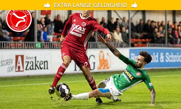 Ticket voor thuiswedstrijd Almere City F.C.