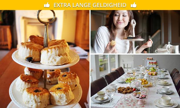 Thuisbezorgd/afhalen: high tea voor thuis