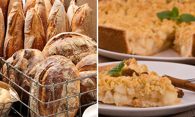 Waardebon voor brood, gebak en banket