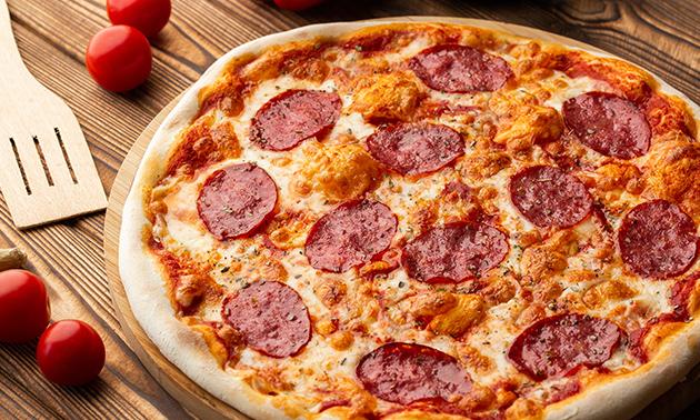 Afhalen: pizza (25+ keuzes) + drankje bij Amon-Sphinx