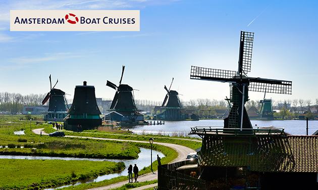 Rondvaart Amsterdam-Zaanse Schans (2 uur)