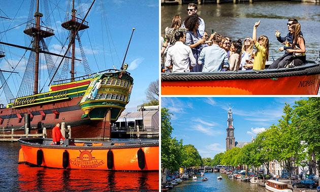 Rondvaart (1 uur) in Amsterdam