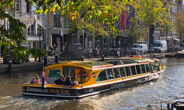 Rondvaart door de grachten van Amsterdam (1,5 of 24 uur)