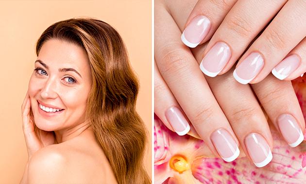 Manicurebehandeling + gellak of gezichtsbehandeling