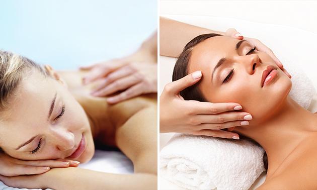 Gezichtsbehandeling + evt. massage