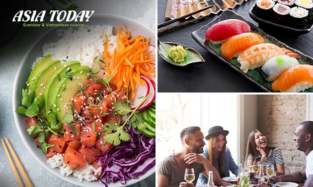 Zum Abholen oder Liefern: Sushi Box (24, 32 oder 48 Stück)