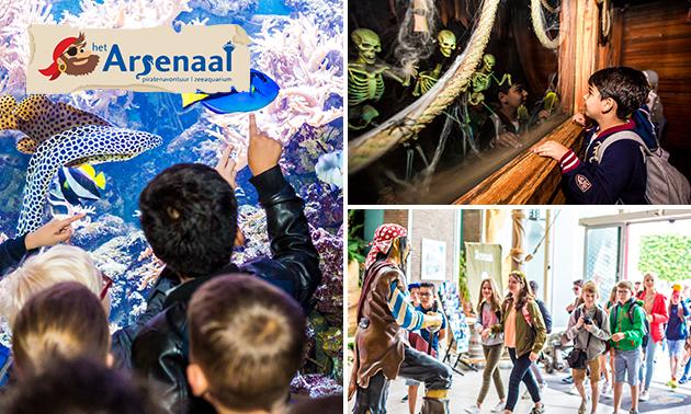 Entree (2 uur) voor attractiepark het Arsenaal
