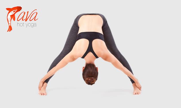 3er- oder 8er-Karte Hot Yoga (je 90 Minuten)