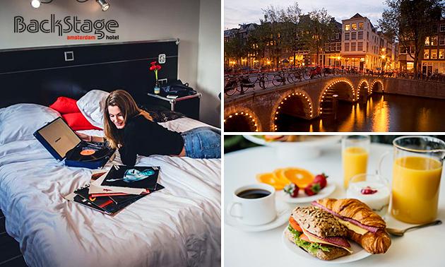 Übernachtung + Frühstück + Sekt für 2 im Herzen Amsterdams