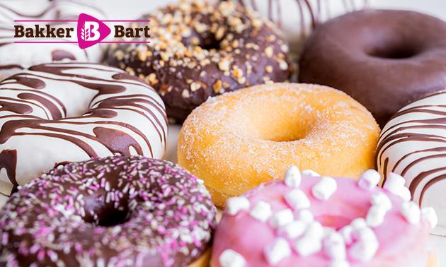 Afhalen: 8 luxe donuts van Bakker Bart