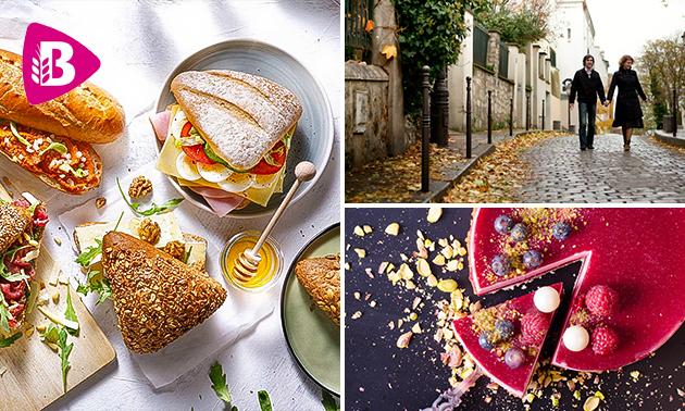 Wandeling/fietstocht + lunch to go van Bakker Bart
