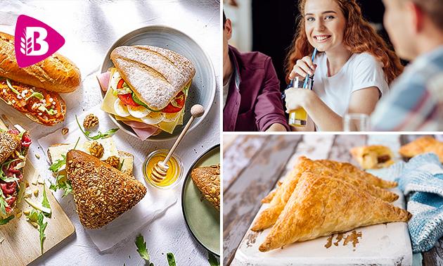 Thuisbezorgd of afhalen: broodje + snack van Bakker Bart