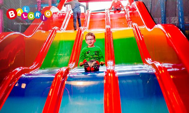 Eintritt ins Kinderspielparadies Ballorig