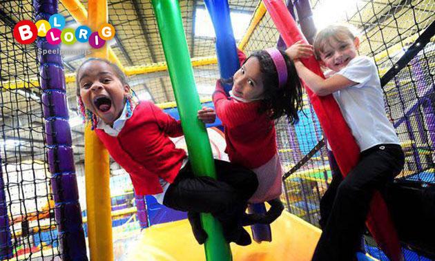 Entree indoor kinderspeelparadijs Ballorig