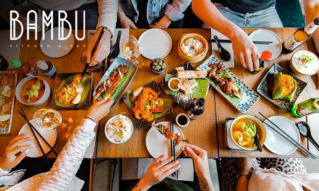 Afhalen: Indonesische rijsttafel bij Bambu Kitchen & Bar