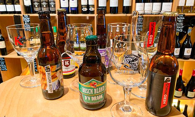 Bossche bierproeverij + hapjes bij Barrique