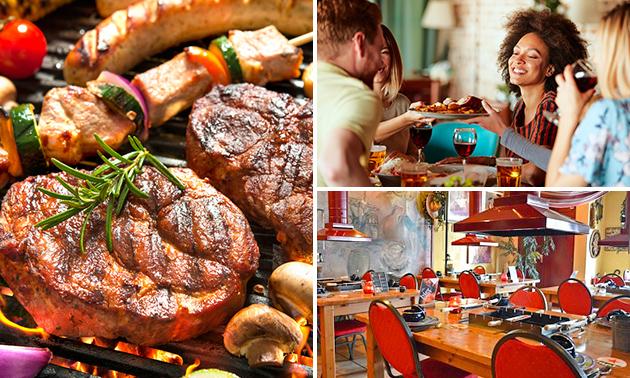 All-You-Can-Eat bij BBQ Restaurant Hillegom