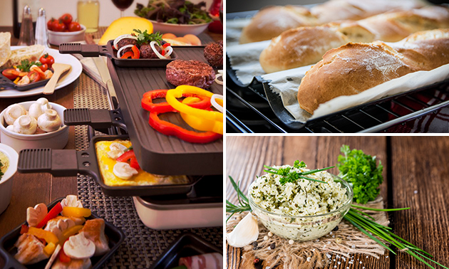 Thuisbezorgd of afhalen: compleet gourmetpakket
