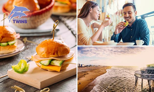 Royaal ontbijt aan zee bij Beachclub TWINS