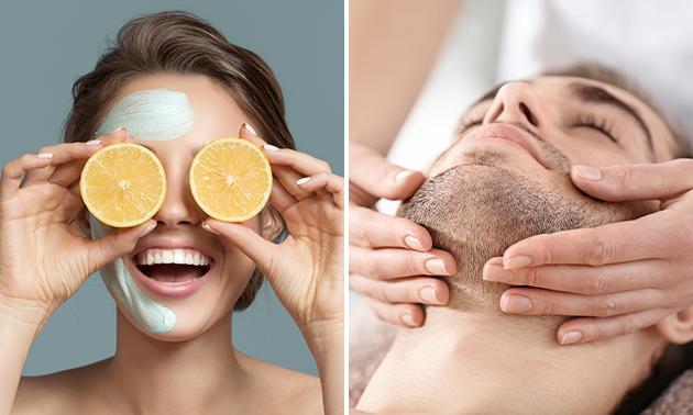 Gesichtsbehandlung mit Ultraschall (60 Minuten)