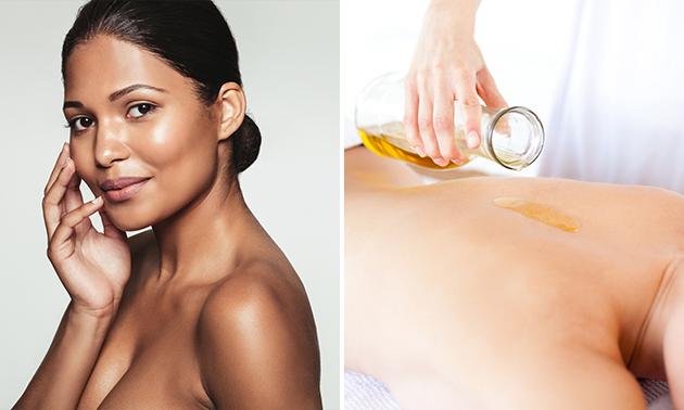 Gezichtsbehandeling of massage (60 min)