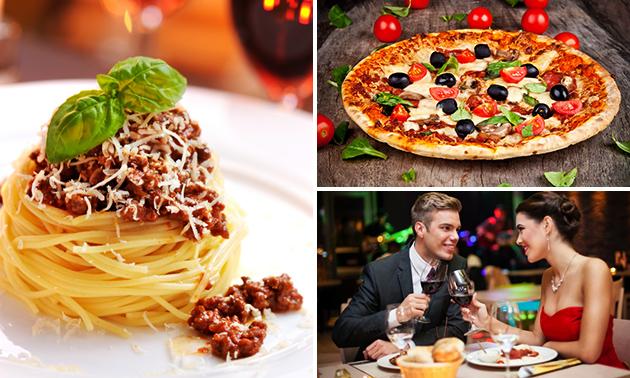 Pizza of pasta (35 keuzes) bij Bella Roma
