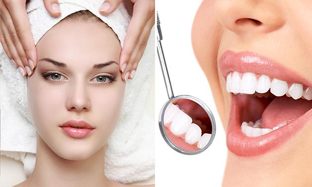 Gezichts- of tandenbleekbehandeling (60 min)