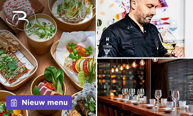 Thuisbezorgd: shared dining + wijn van Beluga & Flavourz