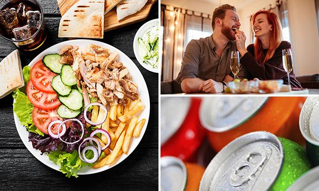 Afhalen: Turkse schotel + drankje in hartje Haarlem