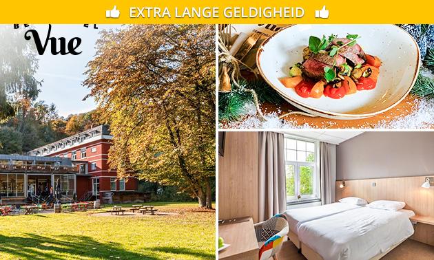 Hotelovernachting(en) + drankje voor 2 bij Berghotel Vue
