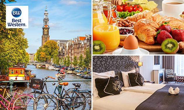 Overnachting voor 2 of 4 personen + ontbijt in Uithoorn