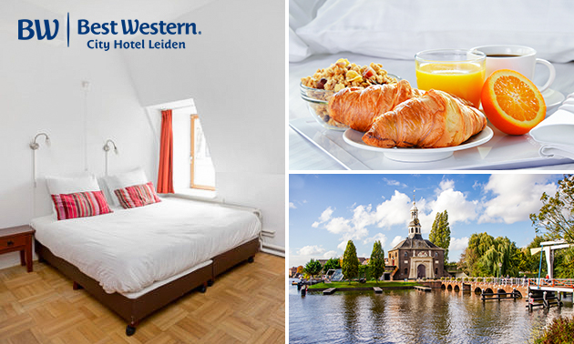 Übernachtung + Frühstück für 2 mitten in Leiden