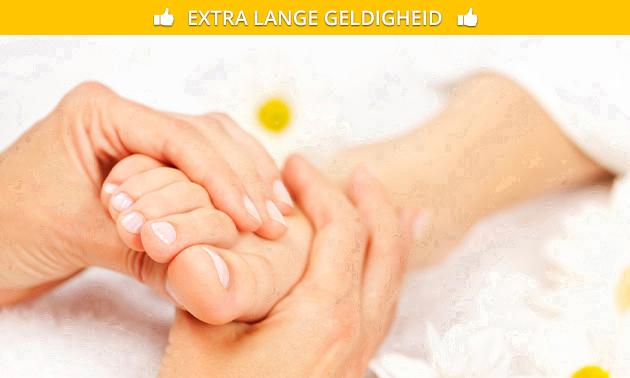 Voetreflexmassage (60 min)