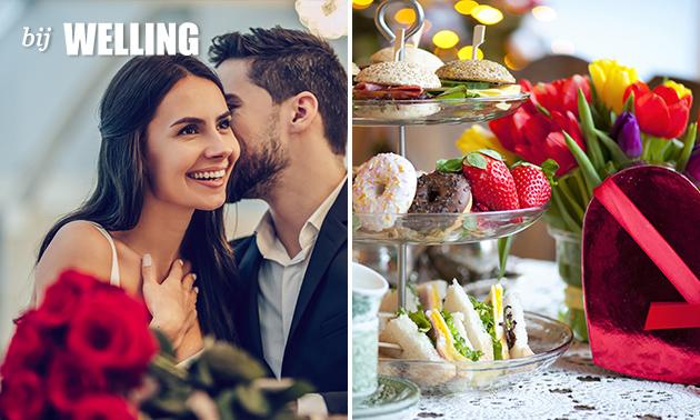 Afhalen: valentijns-high tea + wijn van Bij Welling