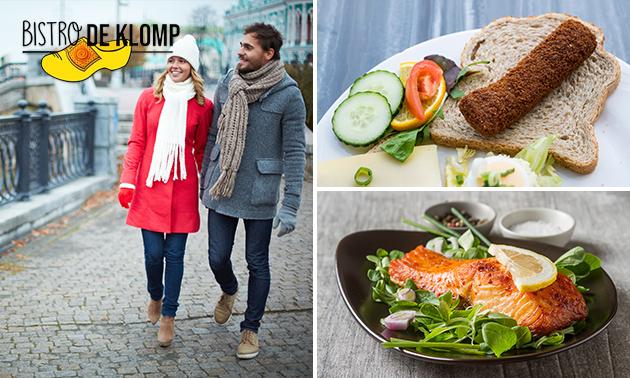 Wandelarrangement + lunch/diner bij Bistro De Klomp