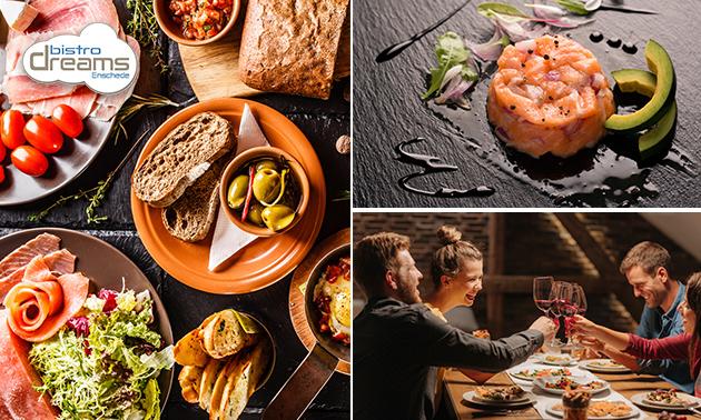 Afhalen: 3-gangen shared dining (14 gerechtjes!) van Dreams