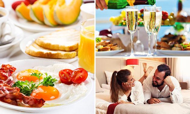 Hotelovernachting + ontbijt voor 2 in de Belgische Kempen