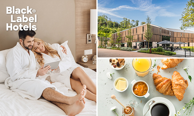 Übernachtung für 2 + Frühstück + Getränk in Valkenburg