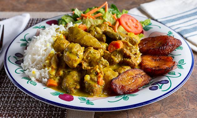 Afhalen: Caribisch diner voor 2 of 3